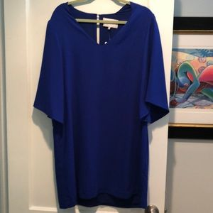 Charles Henry Shift Dress